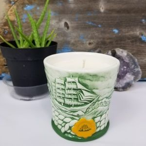 Vintage 1998 Nautical Cutty & Sark Ceramic Candle